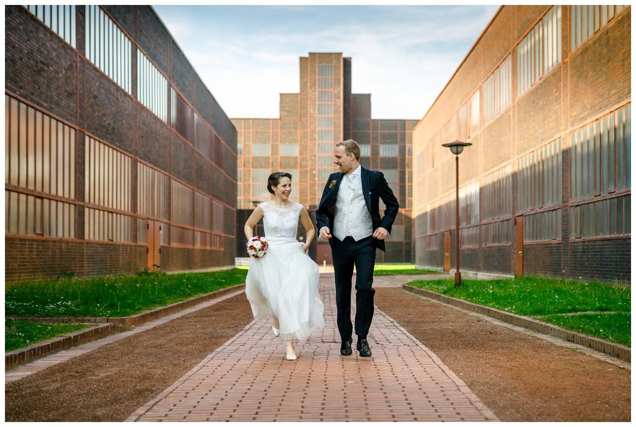 Hochzeit auf Zeche Zollverein in Essen