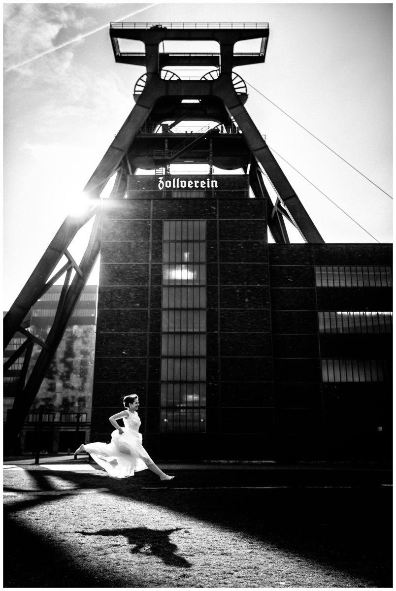 Hochzeitsfotograf Zeche Zollverein Essen