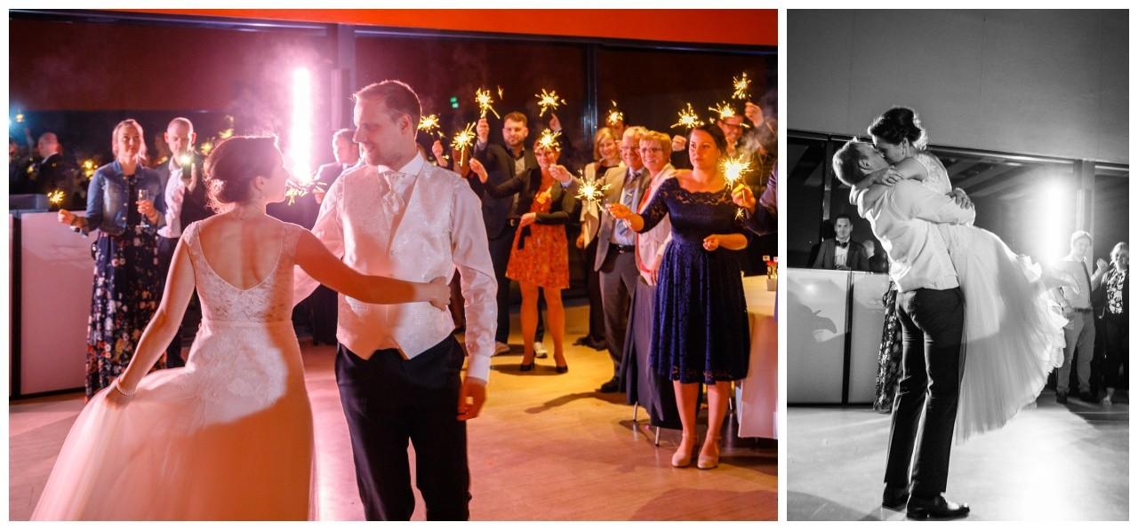 Hochzeits im Erich Brost Pavillon Zeche Zollverein