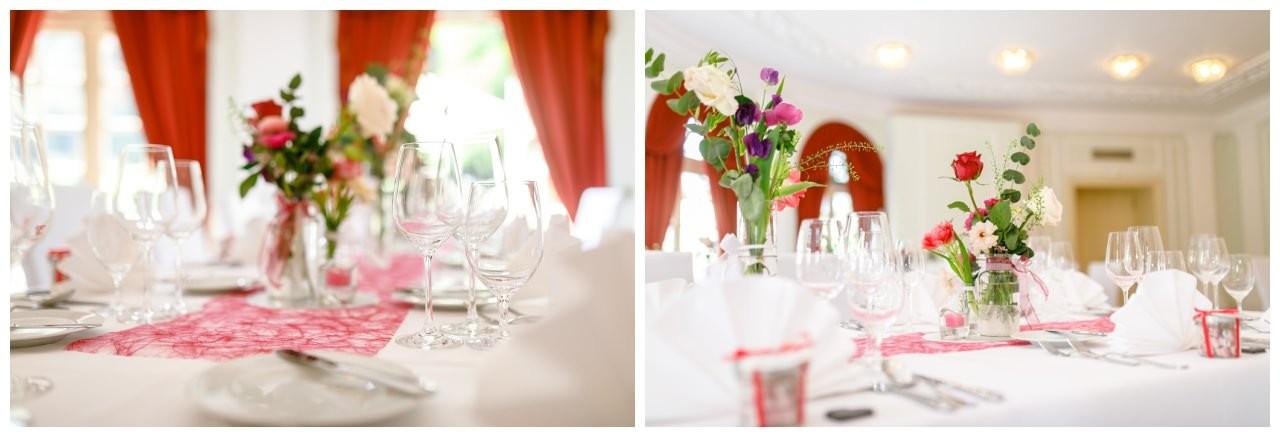 Tischdekoration Hochzeit La Redoute Bonn