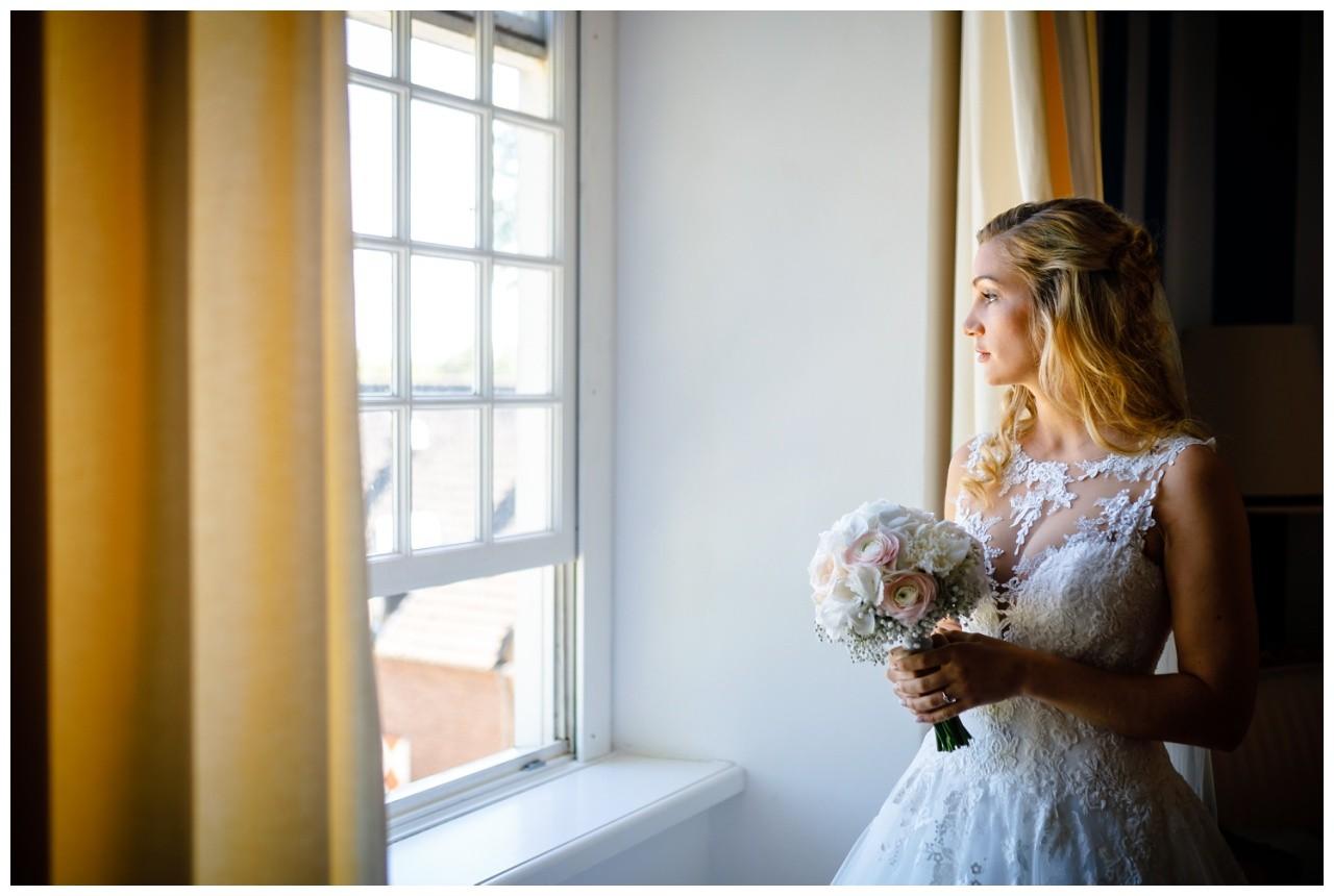 Die Braut vor der Hochzeit