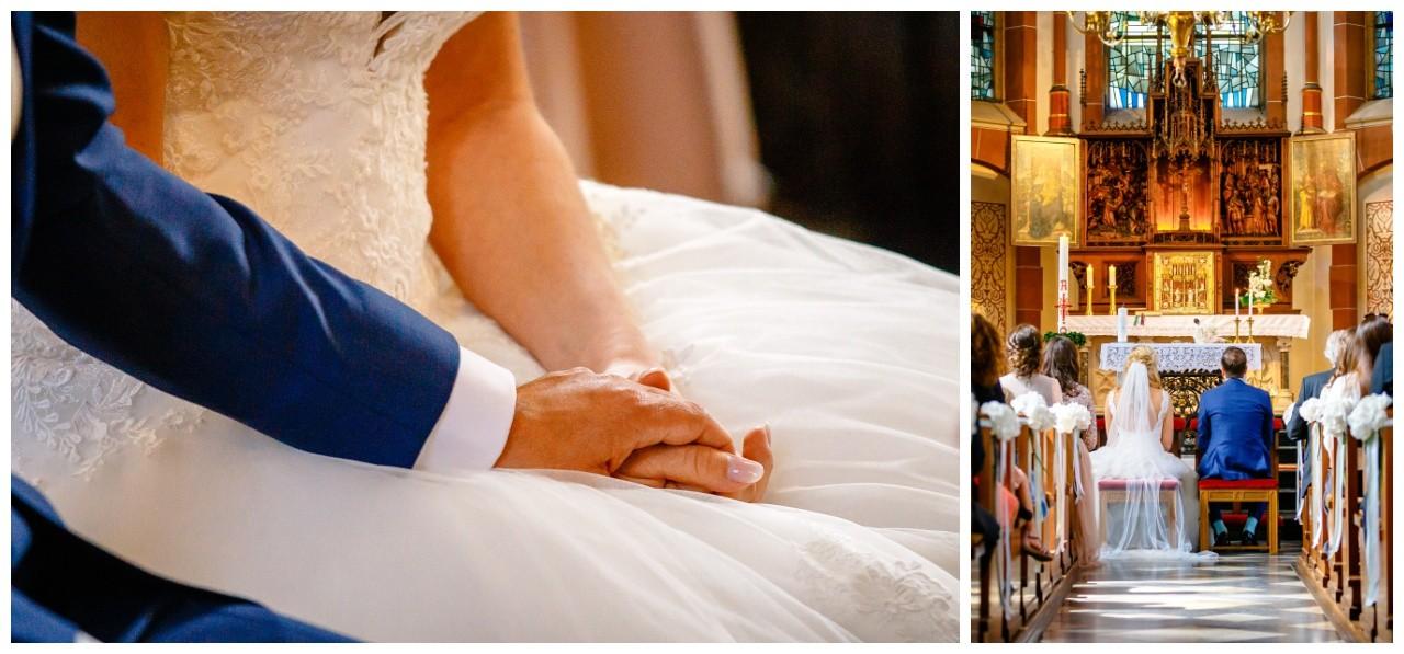Hochzeitsfotograf zur kirchlichen Trauung am Niederrhein