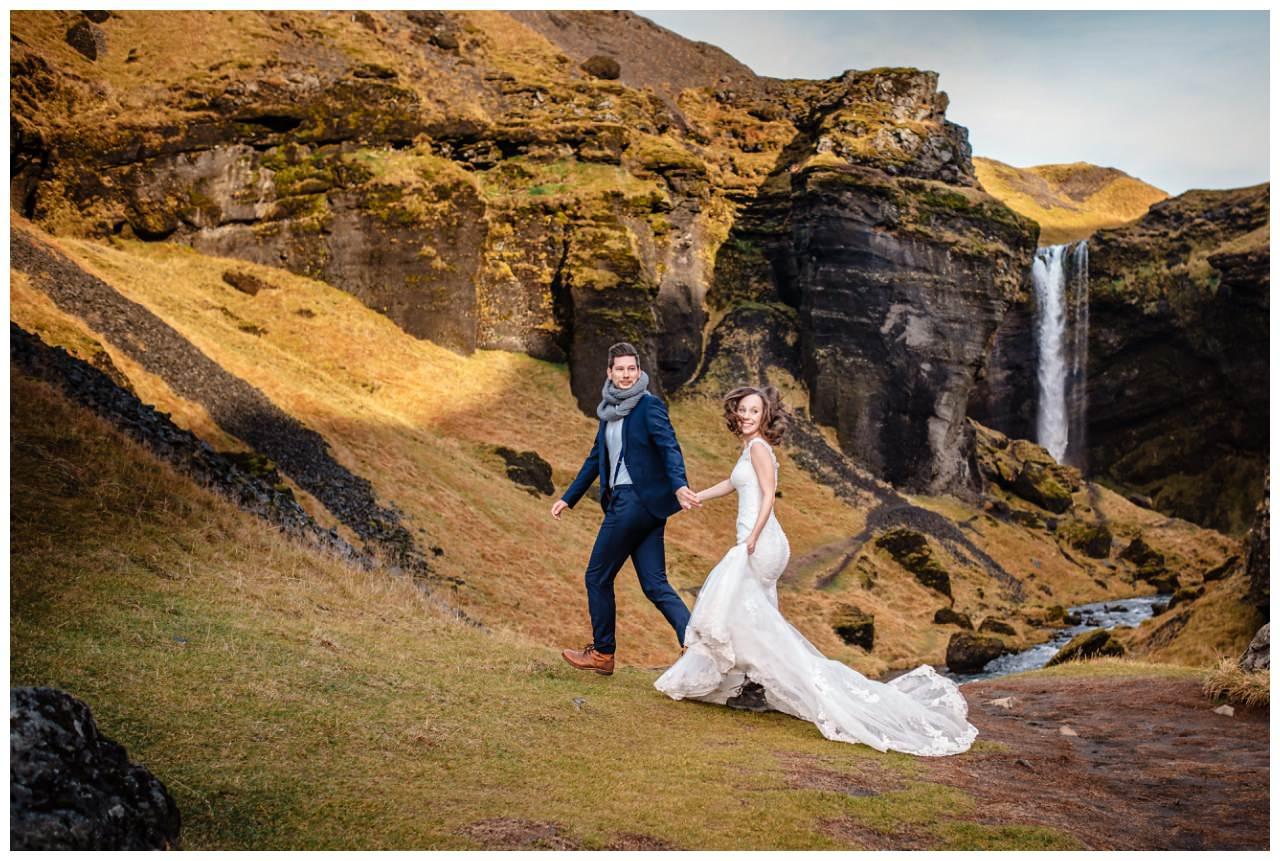 After Wedding Shooting Island Hochzeitsfotos Fotograf 18 - After Wedding Shooting auf Island