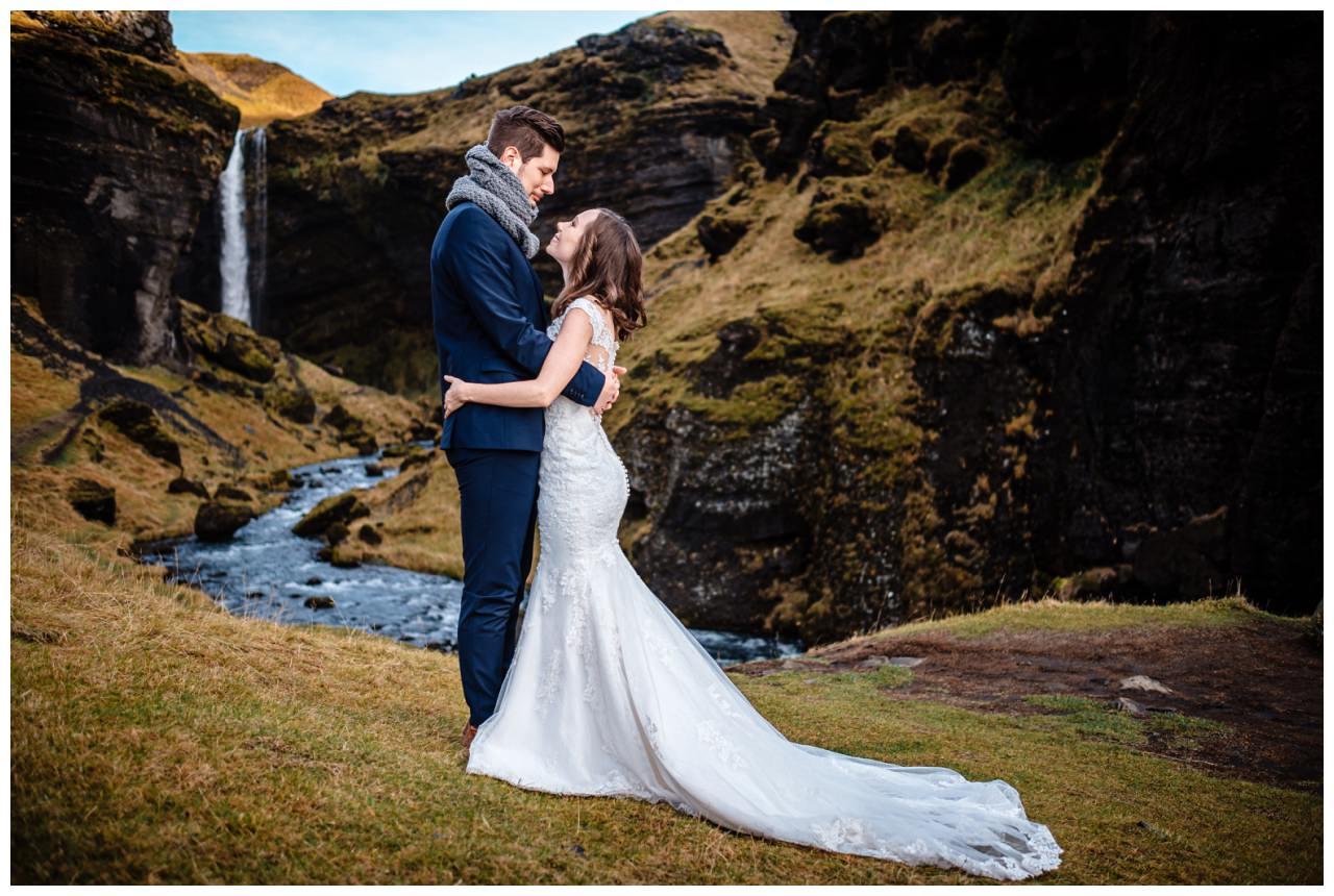 After Wedding Shooting Island Hochzeitsfotos Fotograf 19 - After Wedding Shooting auf Island
