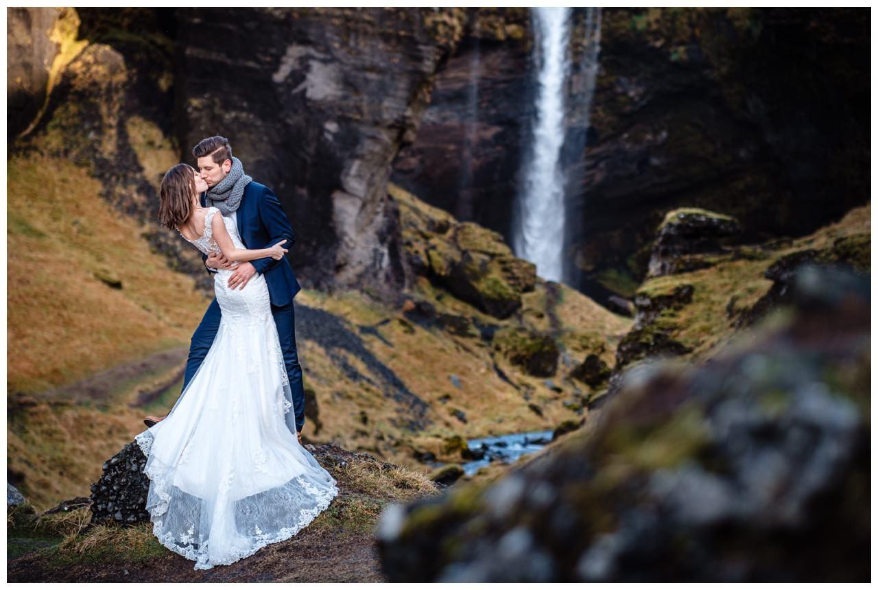 After Wedding Shooting Island Hochzeitsfotos Fotograf 22 - After Wedding Shooting auf Island
