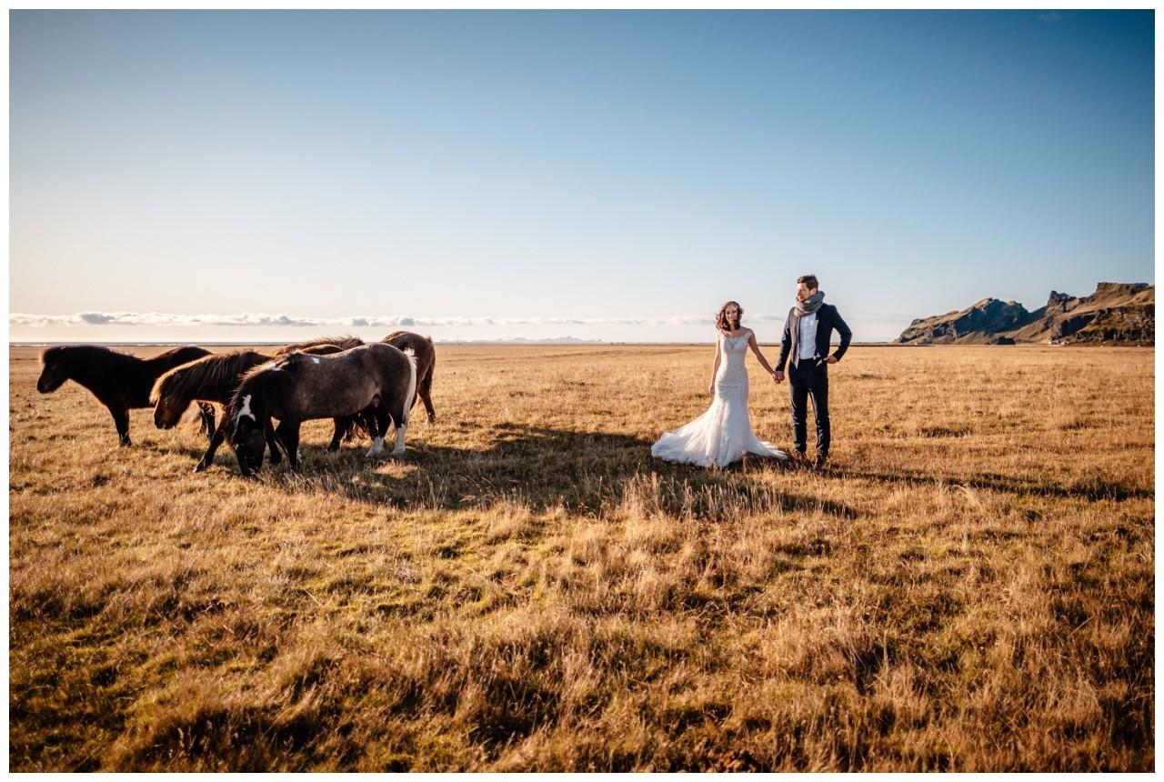 After Wedding Shooting Island Hochzeitsfotos Fotograf 28 - After Wedding Shooting auf Island