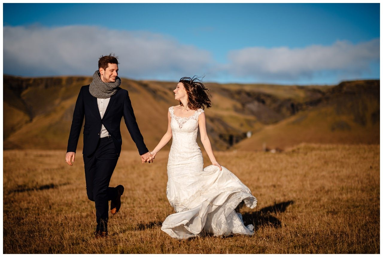 After Wedding Shooting Island Hochzeitsfotos Fotograf 32 - After Wedding Shooting auf Island