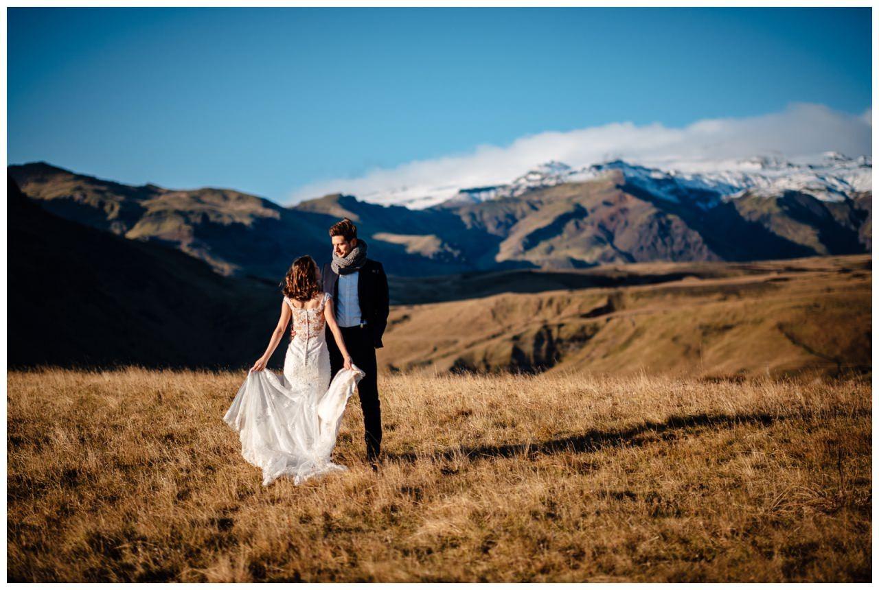 After Wedding Shooting Island Hochzeitsfotos Fotograf 37 - After Wedding Shooting auf Island