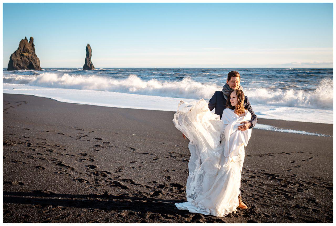 After Wedding Shooting Island Hochzeitsfotos Fotograf 40 - After Wedding Shooting auf Island