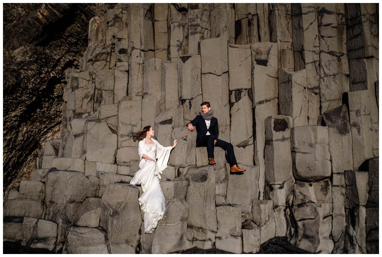 After Wedding Shooting Island Hochzeitsfotos Fotograf 48 - After Wedding Shooting auf Island