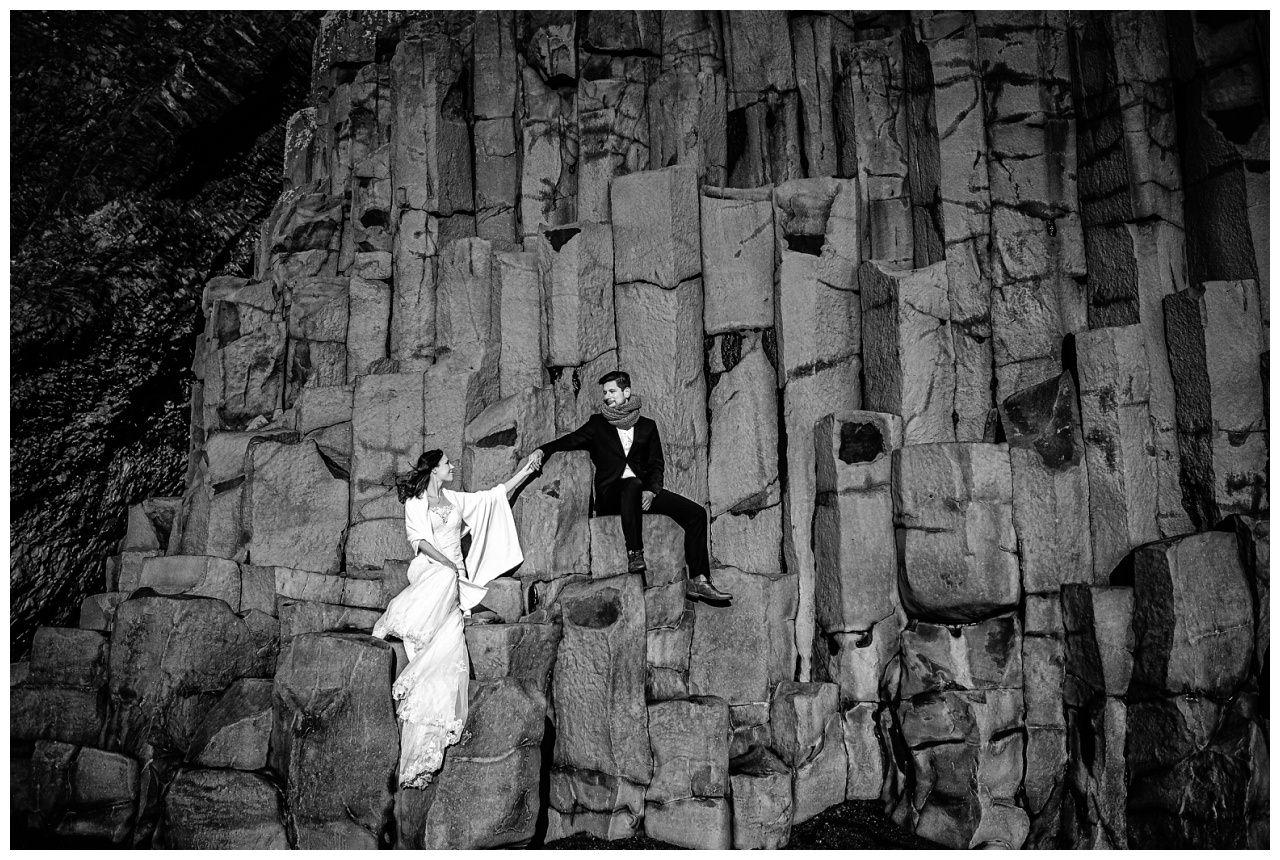 After Wedding Shooting Island Hochzeitsfotos Fotograf 49 - After Wedding Shooting auf Island
