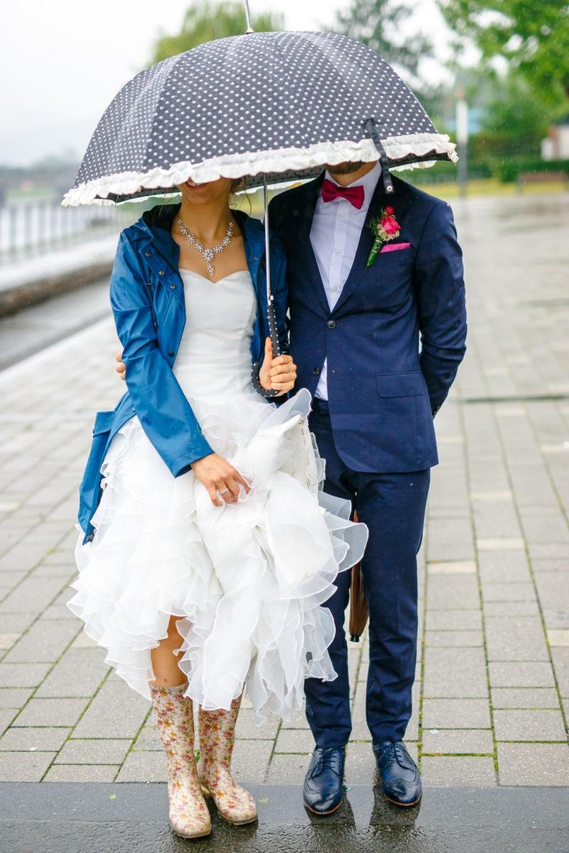 Hochzeit bei Regen? So macht Ihr das Beste daraus - 5 Tipps