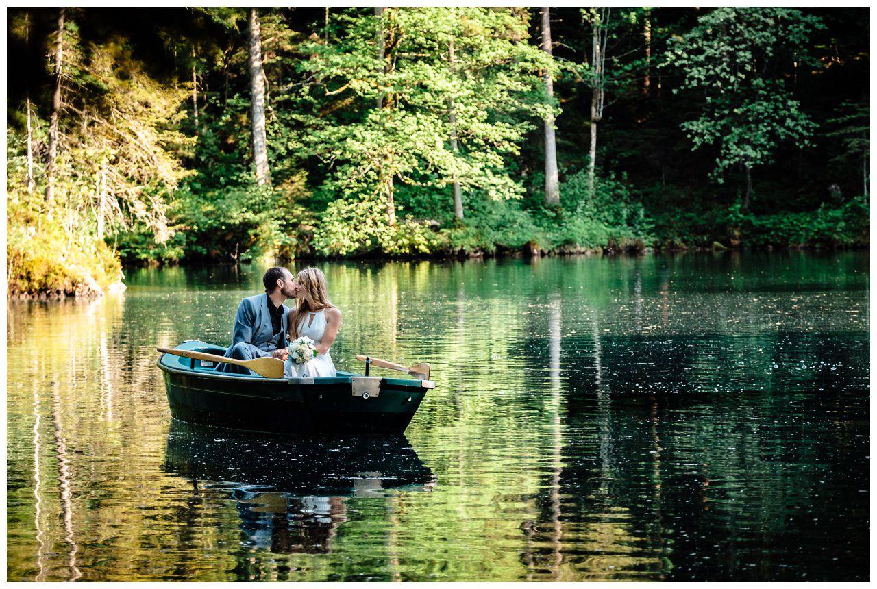 Hochzeitsfotos am See 1 - Planung einer Hochzeit im Ausland