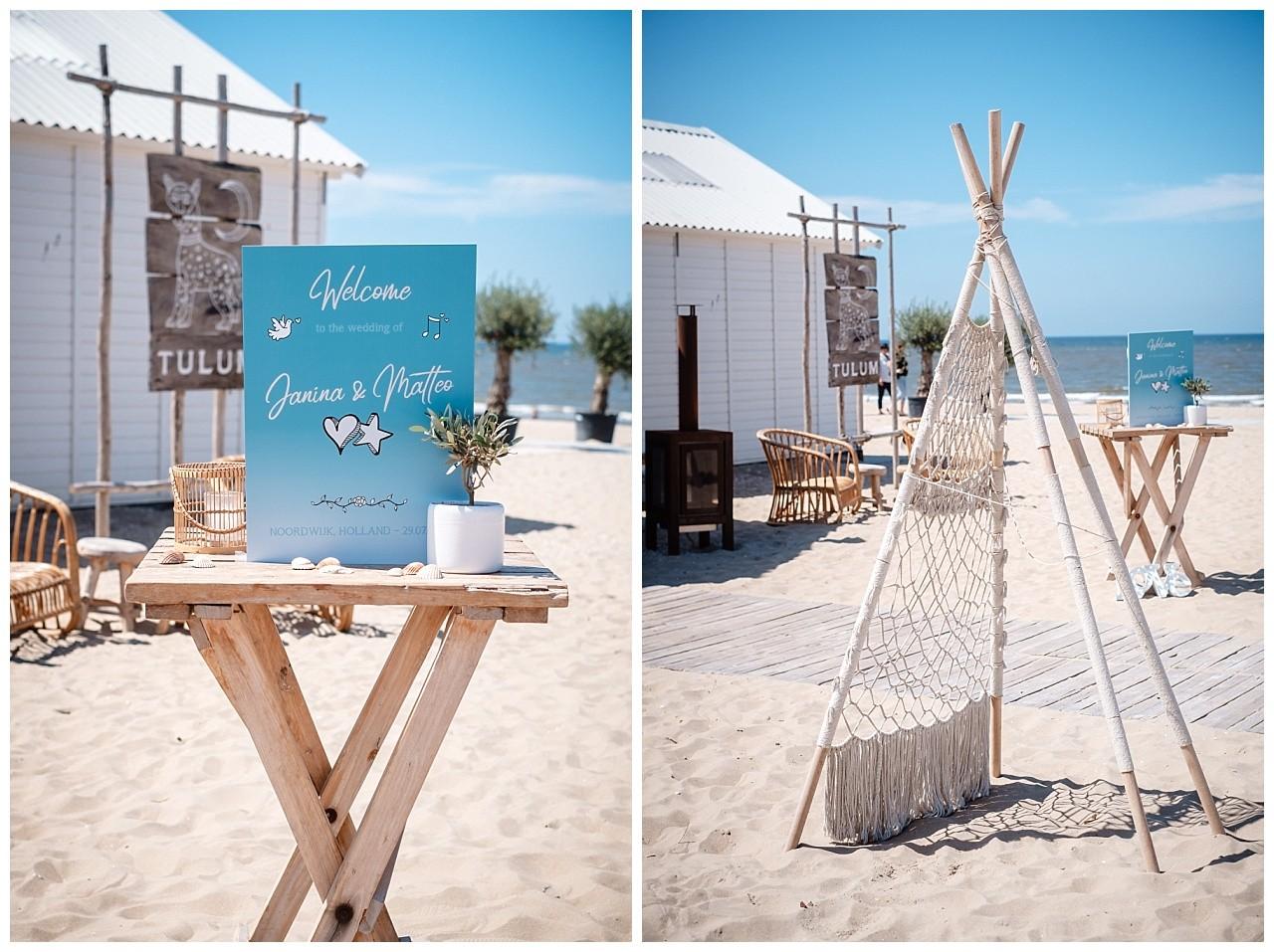 Hochzeit Tulum Noordwijk Heiraten Strand Holland Hochzeitsfotograf 15 - Hochzeit in Holland am Strand