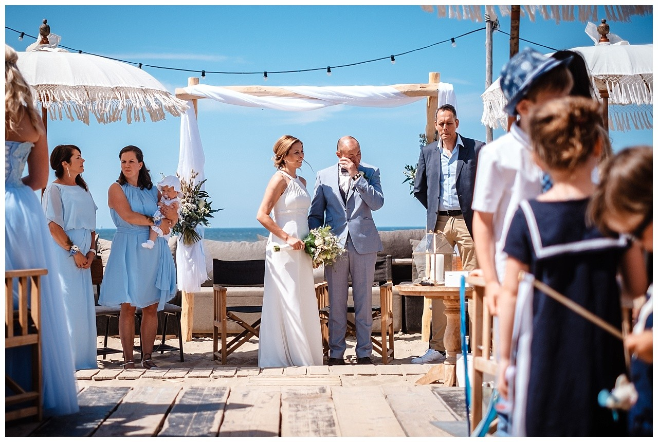 Hochzeit Tulum Noordwijk Heiraten Strand Holland Hochzeitsfotograf 25 - Hochzeit in Holland am Strand