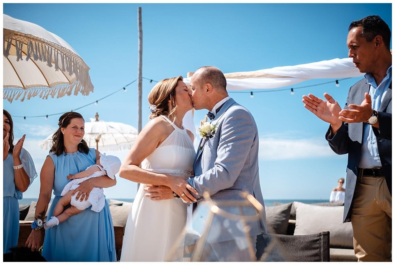 Hochzeit Tulum Noordwijk Heiraten Strand Holland Hochzeitsfotograf 33 - Hochzeit in Holland am Strand
