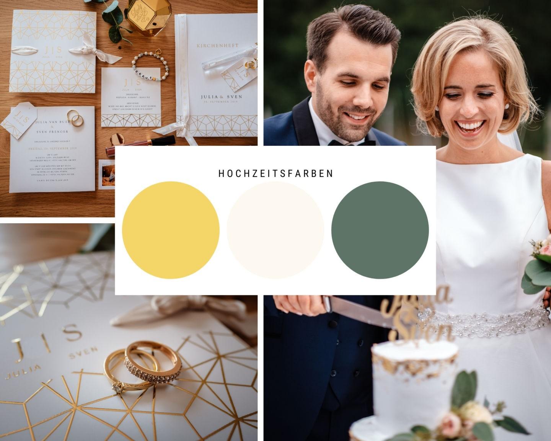 Hochzeit im Seeblick Haltern Location Fotograf Gold weiss - Hochzeit im Seeblick in Haltern