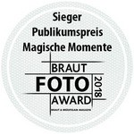 Braut Foto Award Badge