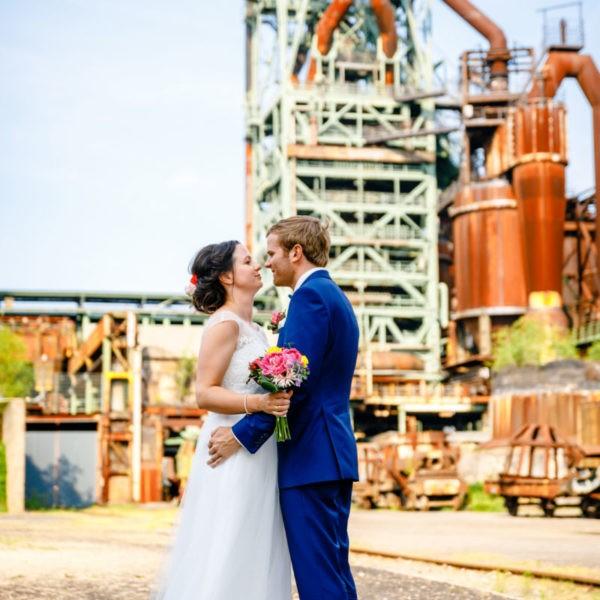 Hochzeit Henrichshütte Hattingen Heiraten Location Hochzeitslocation NRW Fotograf 11 600x600 - Henrichshütte in Hattingen - Hochzeitslocation NRW