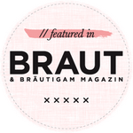 Braut & Bräutigam Magazin Badge