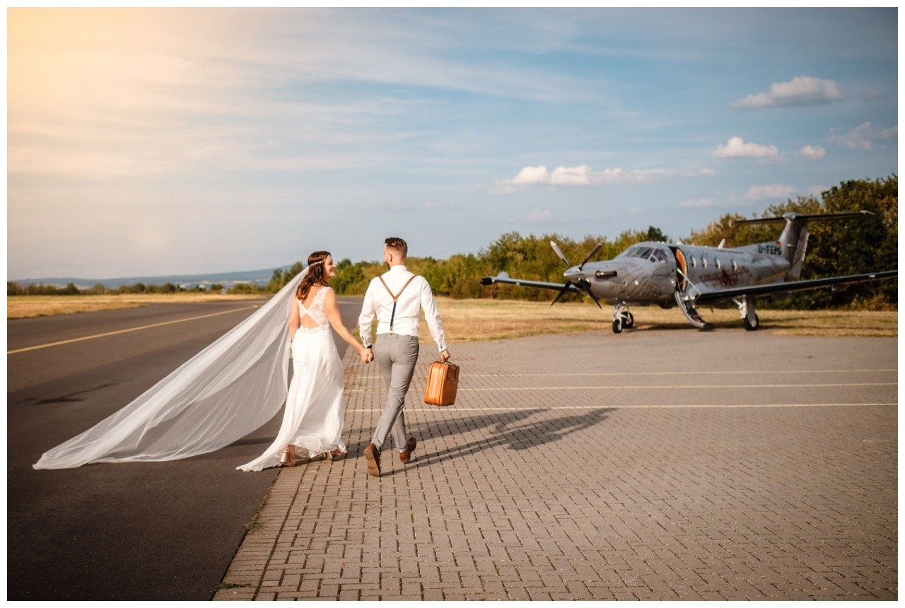 privatjet mieten hochzeitsreise flitterwochen fotograf 8 - Hochzeit zu zweit