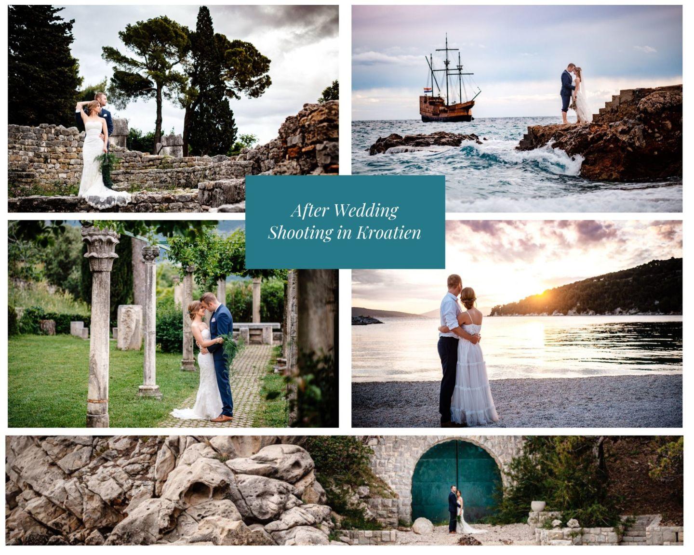 After Wedding Shooting Kroatien - After Wedding Shooting in Kroatien