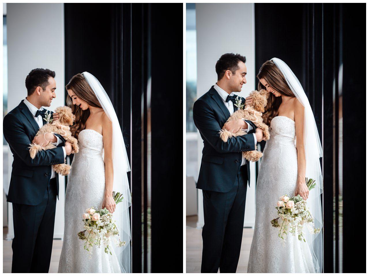 hochzeitsfotos düsseldorf hochzeitsfotograf shooting hund haustier 47 - Hochzeitsfotos in Düsseldorf