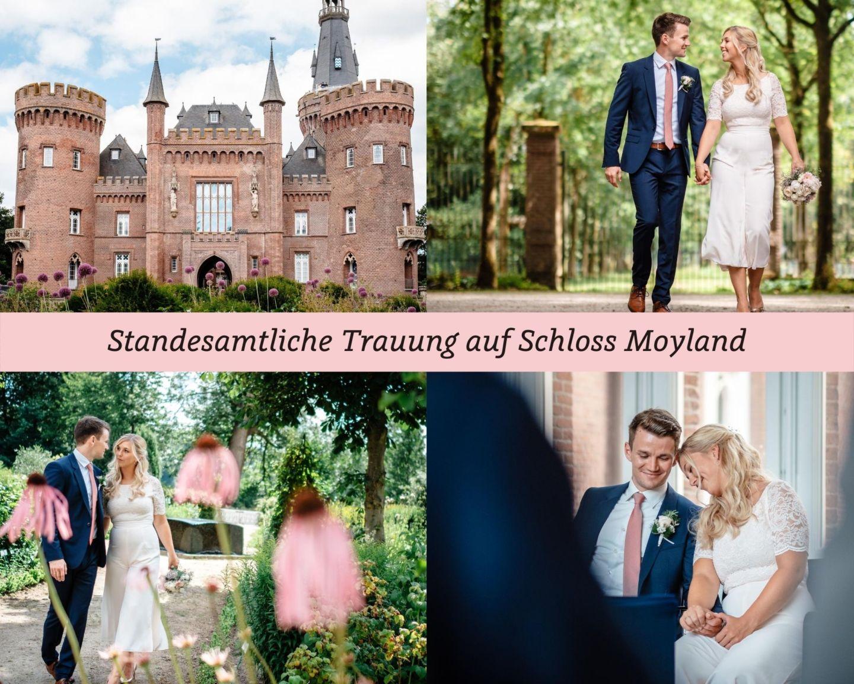 Hochzeit Standesamt Trauung Schloss Moyland - Standesamtliche Hochzeit auf Schloss Moyland