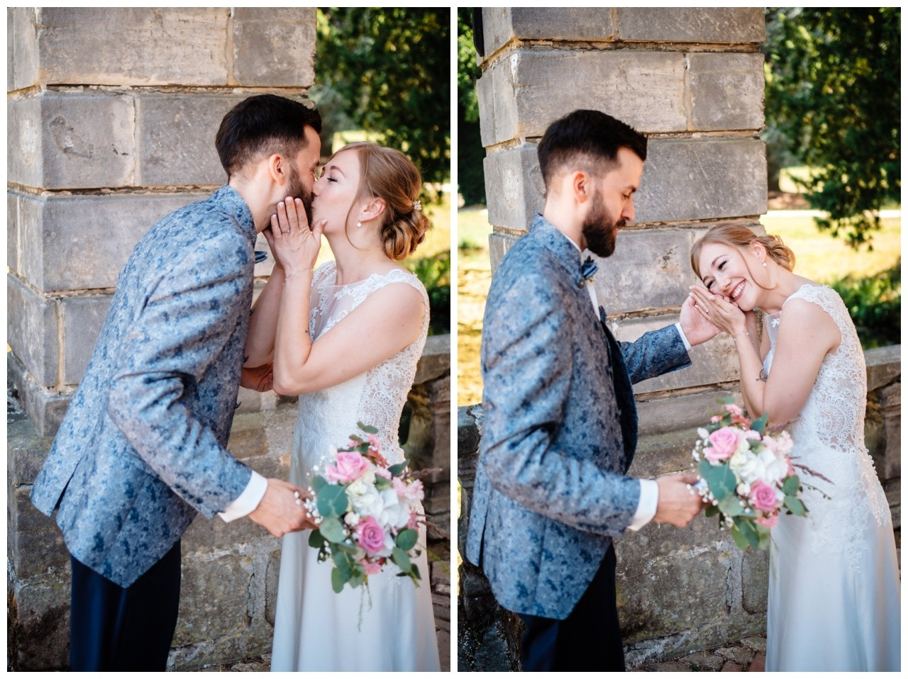 Hochzeit Nikolaus Kloster Juechen Standesamt Trauung Hochzeitsfotograf 21 - Standesamtliche Hochzeit im Nikolauskloster Jüchen