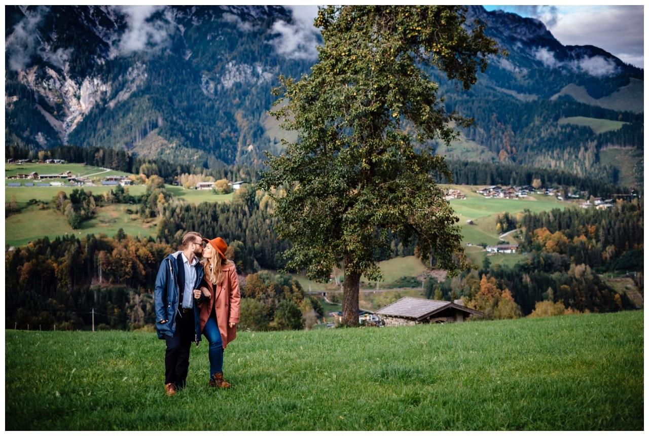 Verlobungsfotos Oesterreich Fotoshooting Paarshooting Leogang 1 - Verlobungsbilder in Österreich
