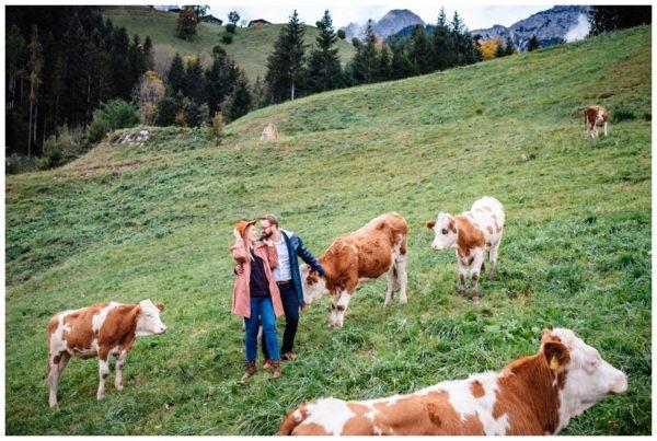 Verlobungsfotos Österreich, Paarshooting in den Bergen, Hochzeitsfotograf, Fotoshooting