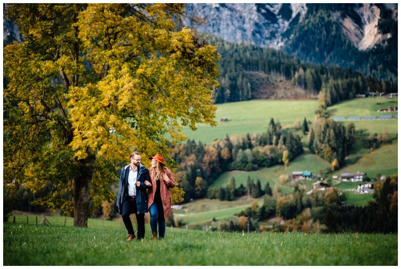 Verlobungsfotos Oesterreich Fotoshooting Paarshooting Leogang 33 - Verlobungsbilder in Österreich