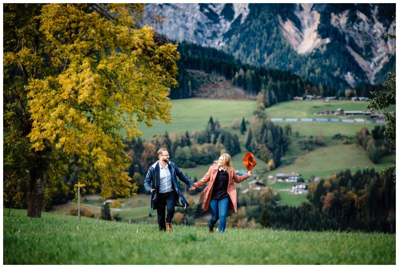 Verlobungsfotos Oesterreich Fotoshooting Paarshooting Leogang 5 - Verlobungsbilder in Österreich