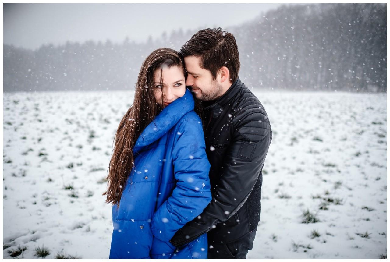 Shooting im Schnee Paarfotos Fotograf 15 - Shooting im Schnee