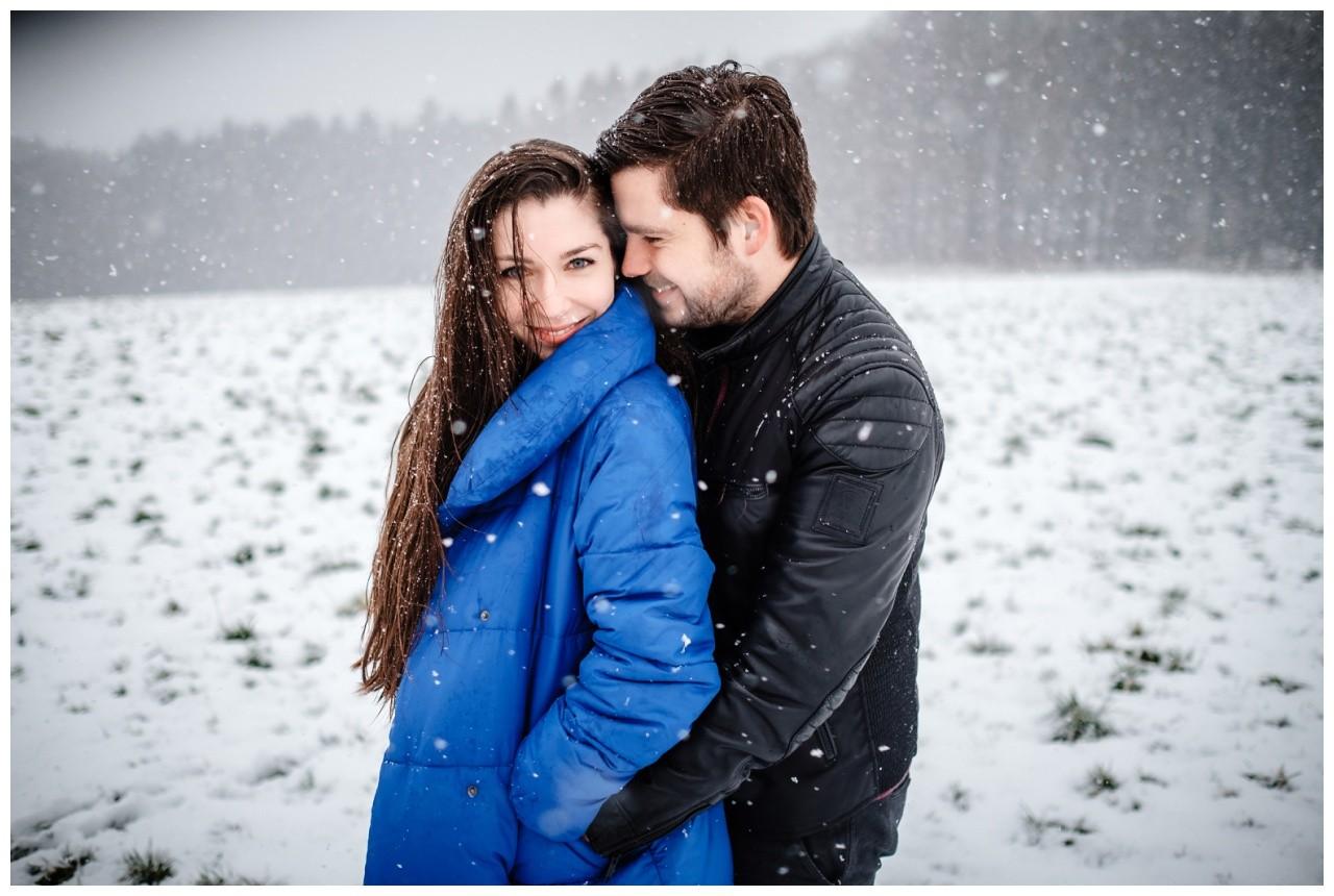 Shooting im Schnee Paarfotos Fotograf 16 - Shooting im Schnee