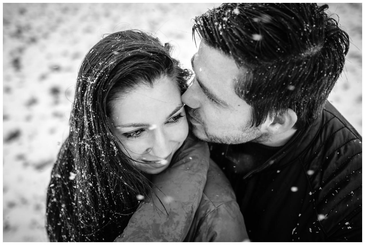 Shooting im Schnee Paarfotos Fotograf 17 - Shooting im Schnee