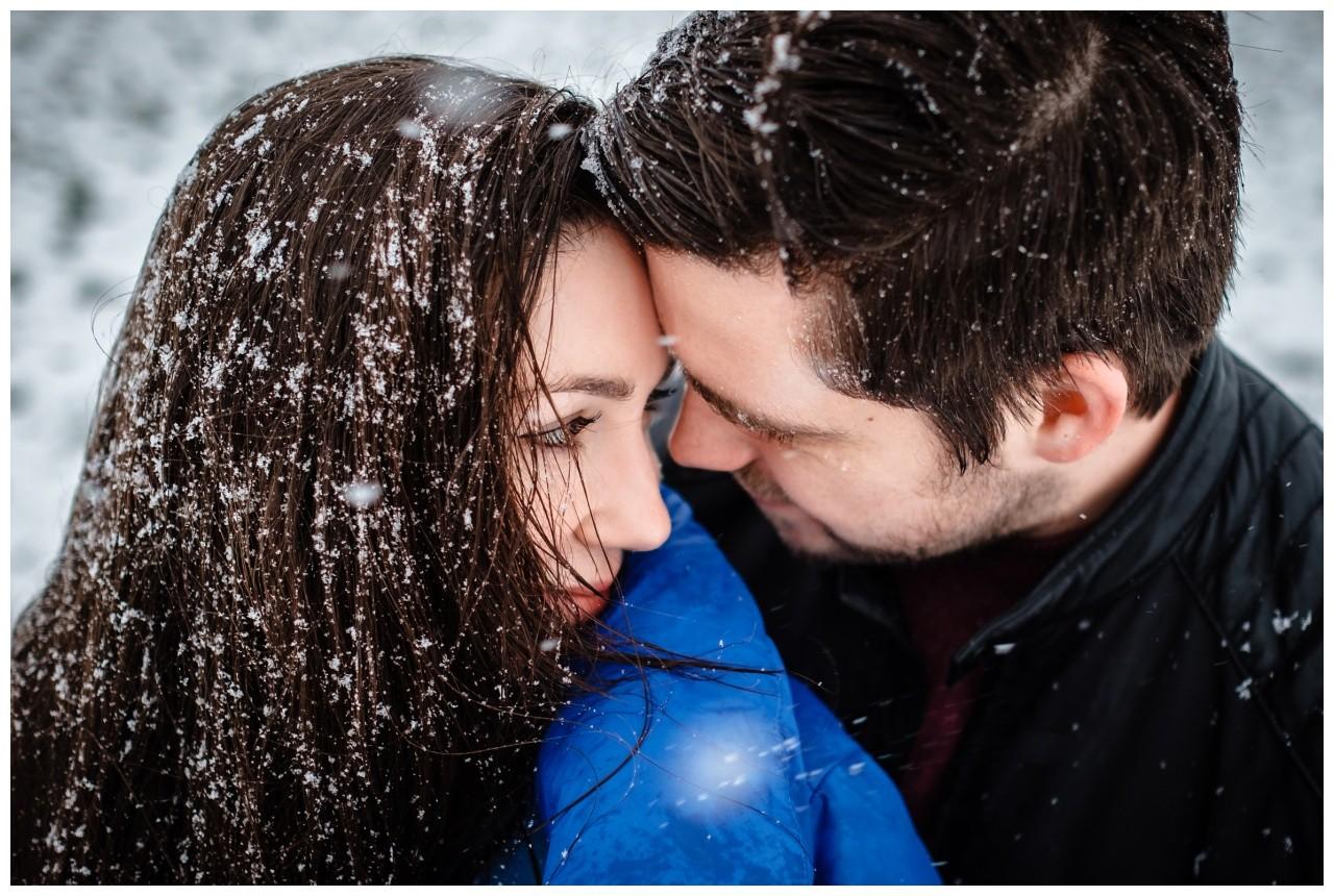 Shooting im Schnee Paarfotos Fotograf 18 - Shooting im Schnee