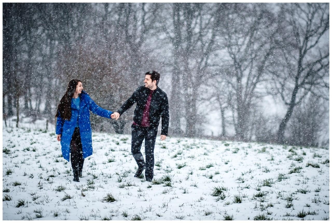 Shooting im Schnee Paarfotos Fotograf 2 - Shooting im Schnee