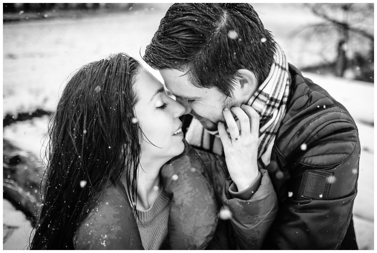 Shooting im Schnee Paarfotos Fotograf 27 - Shooting im Schnee