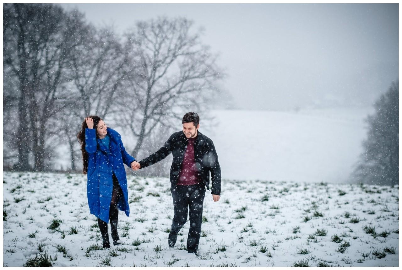 Shooting im Schnee Paarfotos Fotograf 3 - Shooting im Schnee