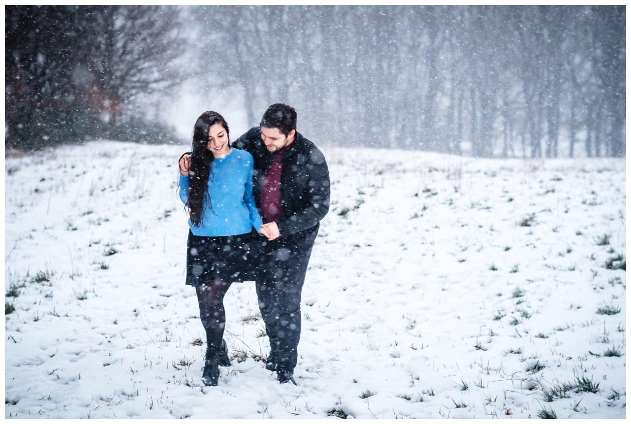 Shooting im Schnee Paarfotos Fotograf 31 - Shooting im Schnee