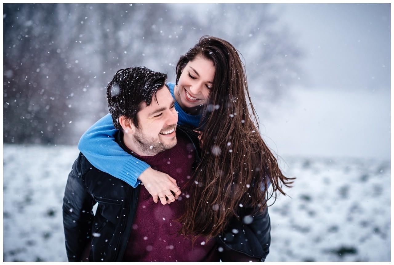 Shooting im Schnee Paarfotos Fotograf 6 - Shooting im Schnee