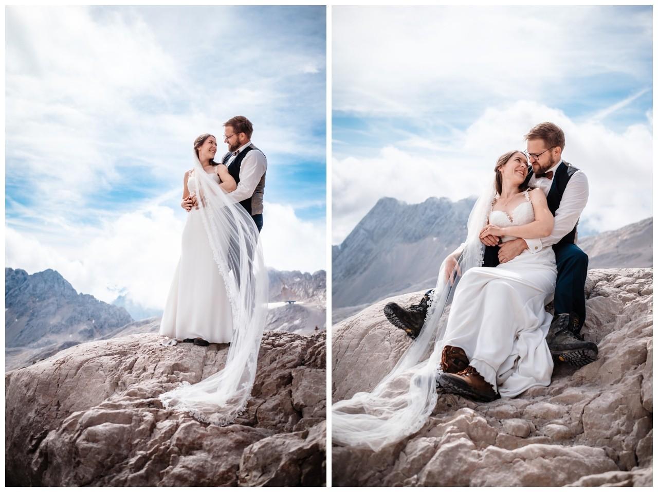 hochzeitsfoto eibsee zugspitze gamisch hochzeitsfotograf foto paarshooting 16 - Hochzeitsfotos am Eibsee
