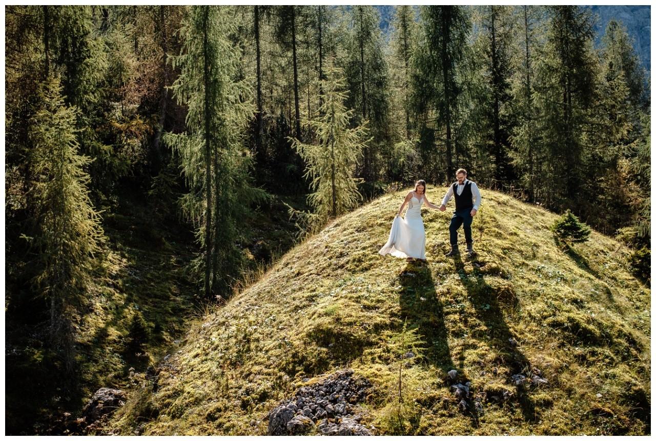 hochzeitsfoto eibsee zugspitze gamisch hochzeitsfotograf foto paarshooting 27 - Hochzeitsfotos am Eibsee