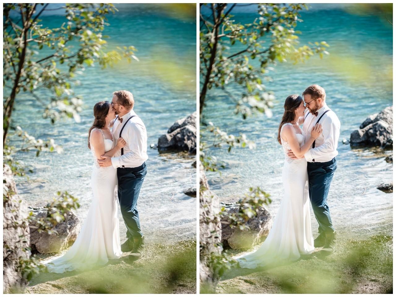 hochzeitsfoto eibsee zugspitze gamisch hochzeitsfotograf foto paarshooting 28 - Hochzeitsfotos am Eibsee