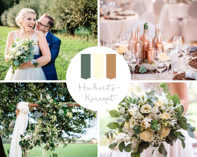 DIY Hochzeit Garten Gartenhochzeit Kupfer gruen weiss hochzeitsfotograf - DIY Hochzeit im Garten