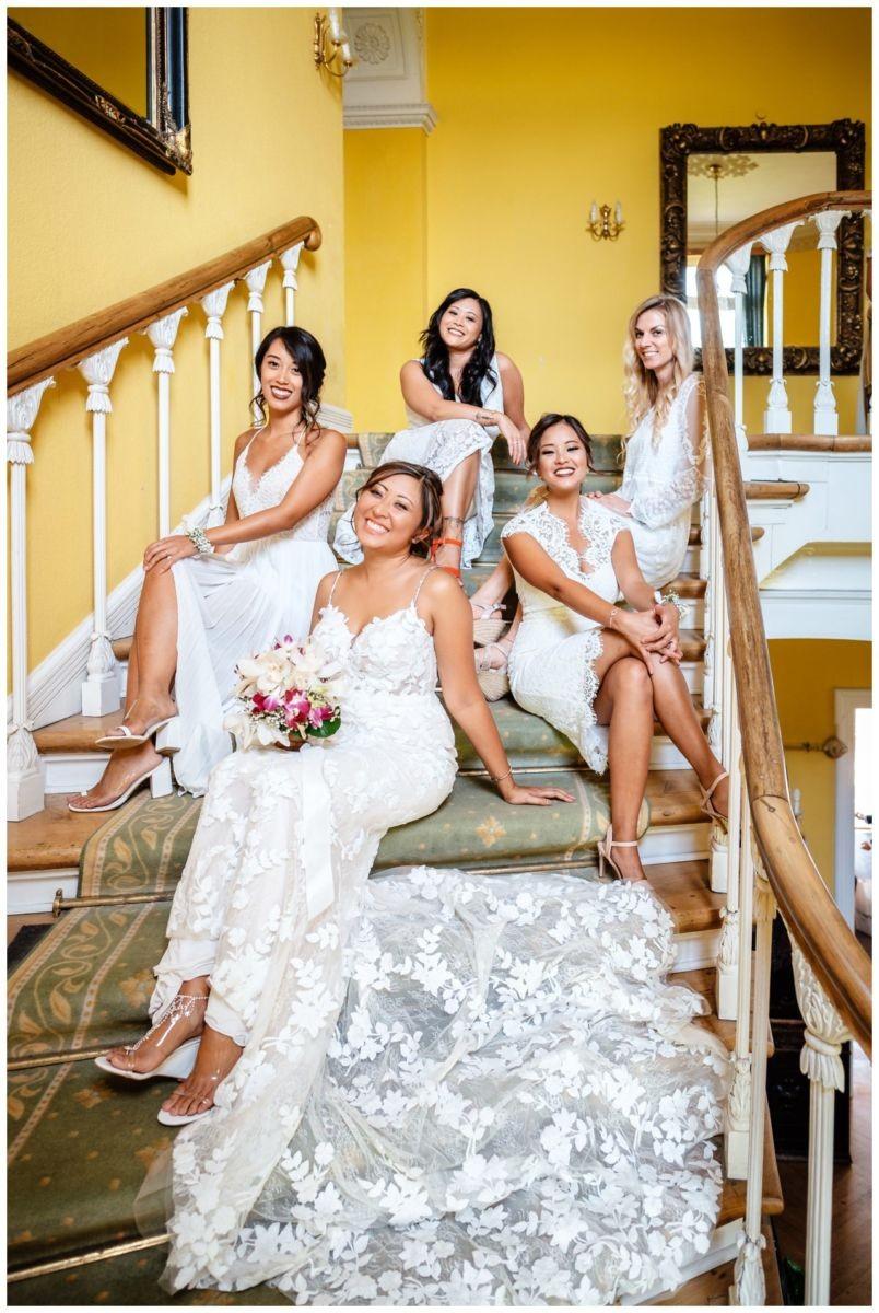 Hochzeit Schloss Herten Ruhrgebiet Hawaii Asiaten Hochzeitsfotograf heiraten 31 - Hawaii Hochzeit auf Schloss Herten