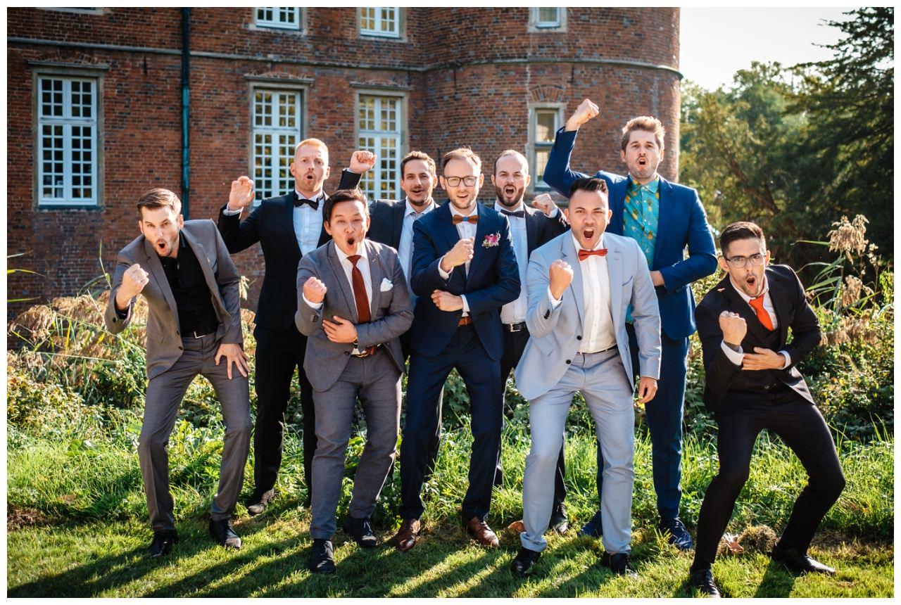 Hochzeit Schloss Herten Ruhrgebiet Hawaii Asiaten Hochzeitsfotograf heiraten 68 - Hawaii Hochzeit auf Schloss Herten