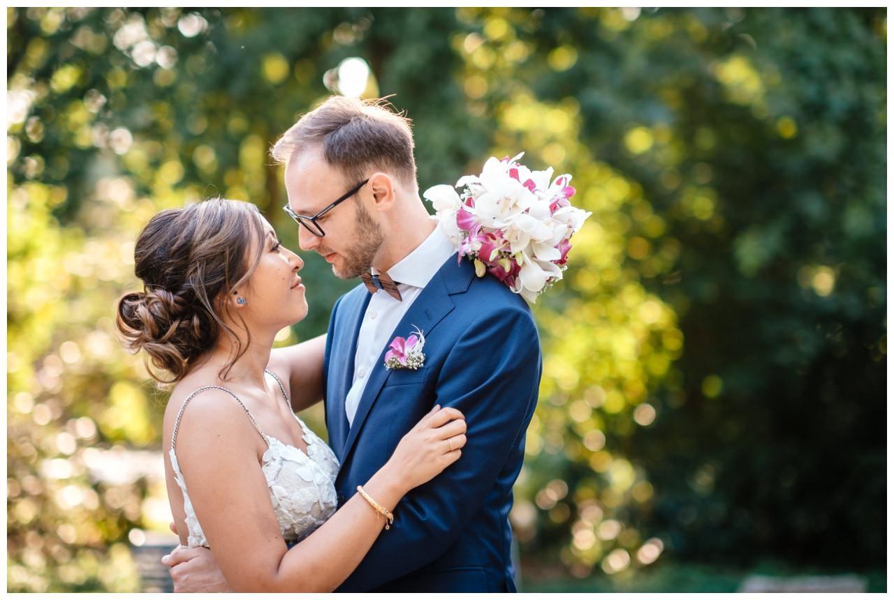 Hochzeit Schloss Herten Ruhrgebiet Hawaii Asiaten Hochzeitsfotograf heiraten 69 - Hawaii Hochzeit auf Schloss Herten