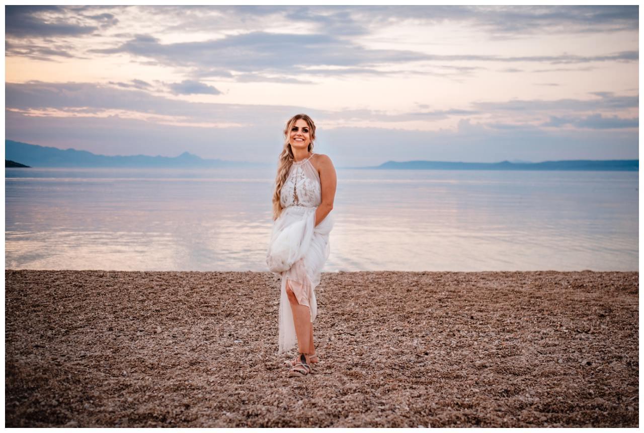 hochzeit kroatien ausland gardasee fotograf strand 103 - Hochzeit am Strand in Kroatien